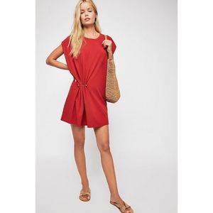 Free People NWT Bianca Knit Mini Dress